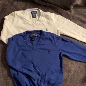 Ralph Lauren Boys 3T V neck sweaters